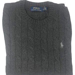 Polo Ralph Lauren Men's Pony Cable Knit Crewneck